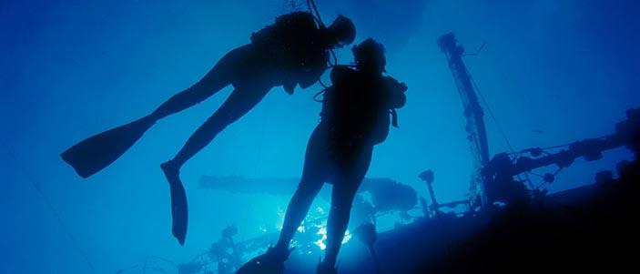 erogatore per immersioni