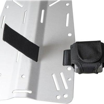 Tasca porta zavorra per back plate