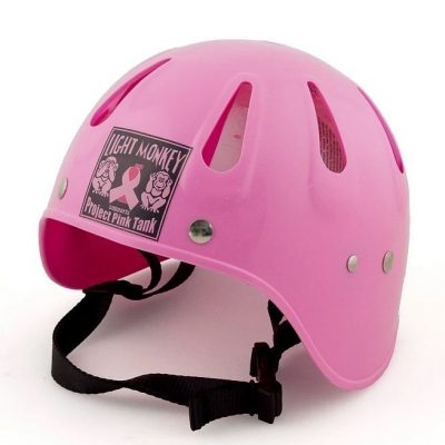 casco da immersioni rosa