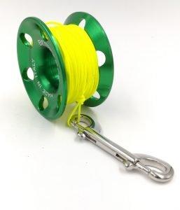 spool alluminio verde